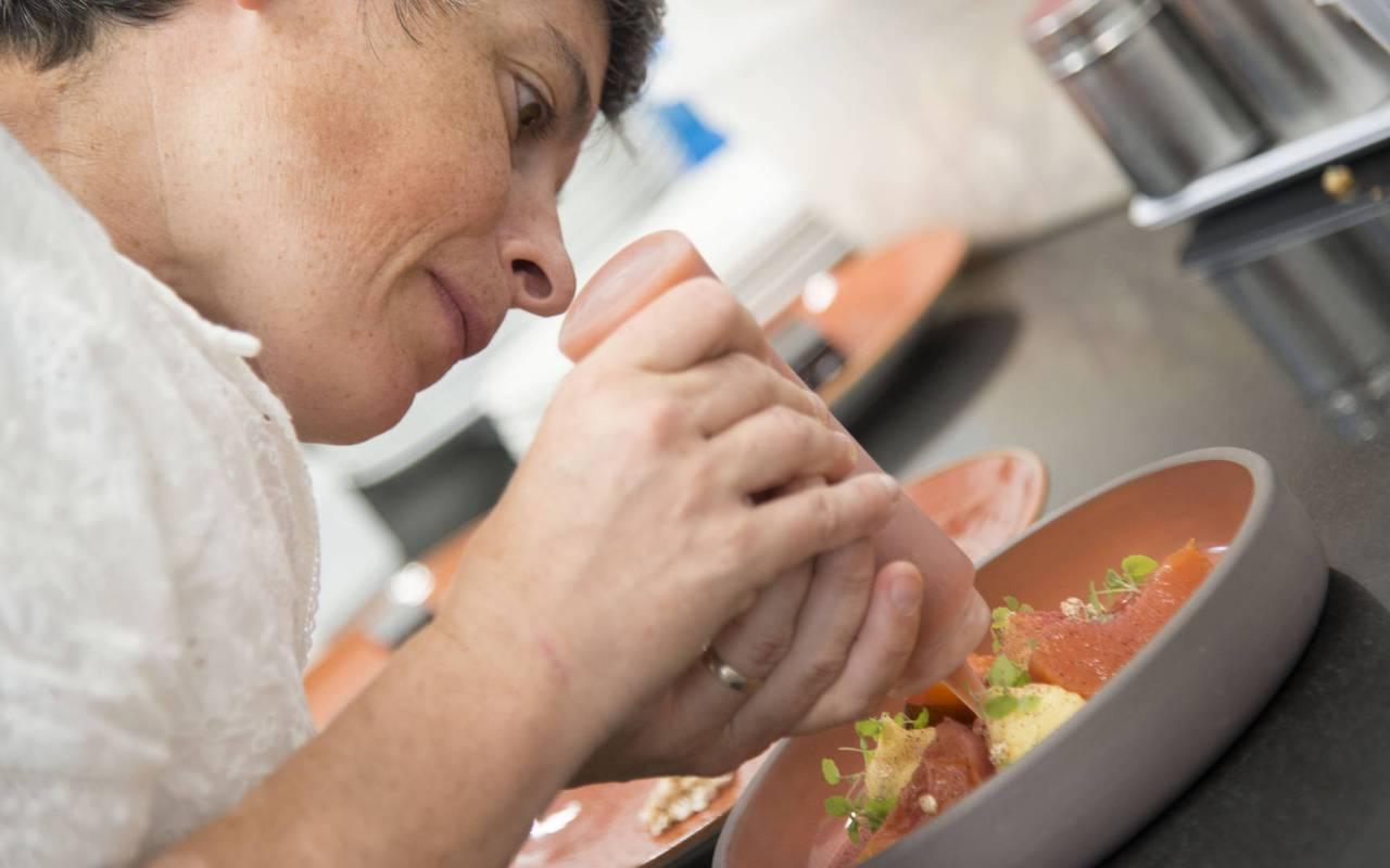 Chef who cooks, Carnac hotel, Lann Roz