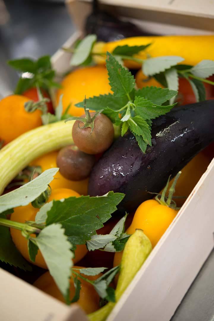 Visuel de légumes frais, fournisseurs du restaurant étoilé Coté Cuisine, restaurant gastronomique étoilé Carnac Morbihan